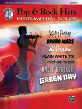 Pop & Rock Hits Instrumental Solos for Strings