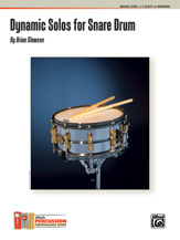 Dynamic Solos for Snare Drum