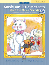 Mozart Meet The Music Friends, Curriculum Book With Cd
