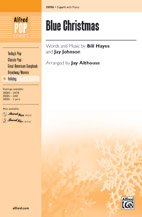 Jay Althouse : Blue Christmas : Showtrax CD : 038081425597  : 00-38087