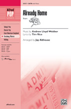 Already Home : SATB : Jay Althouse : Harold Arlen : The Wizard of Oz : Sheet Music : 00-38157 : 038081426297