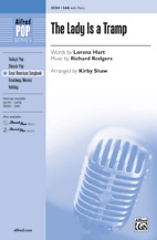Kirby Shaw : The Lady Is a Tramp : Showtrax CD : 038081426723  : 00-38201