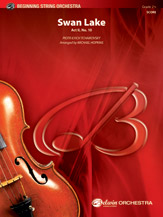 Swan Lake: 3rd Violin (Viola [TC])