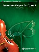 Concerto a Cinque, Op. 7, No. 1: Score