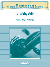 A Holiday Waltz: 3rd Violin (Viola [TC])