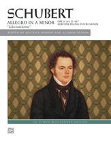 Schubert: Allegro in A Minor, Opus 144 ('Lebenssturme')