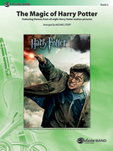 The Magic of Harry Potter: Featuring themes from all eight <i>Harry Potter</i> motion pictures  Arr. Michael Story (#AL-00-39534) thumbnail