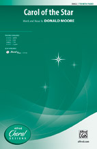 Carol of the Star : TTB : Donald Moore : Donald Moore : Sheet Music : 00-39802 : 038081444635