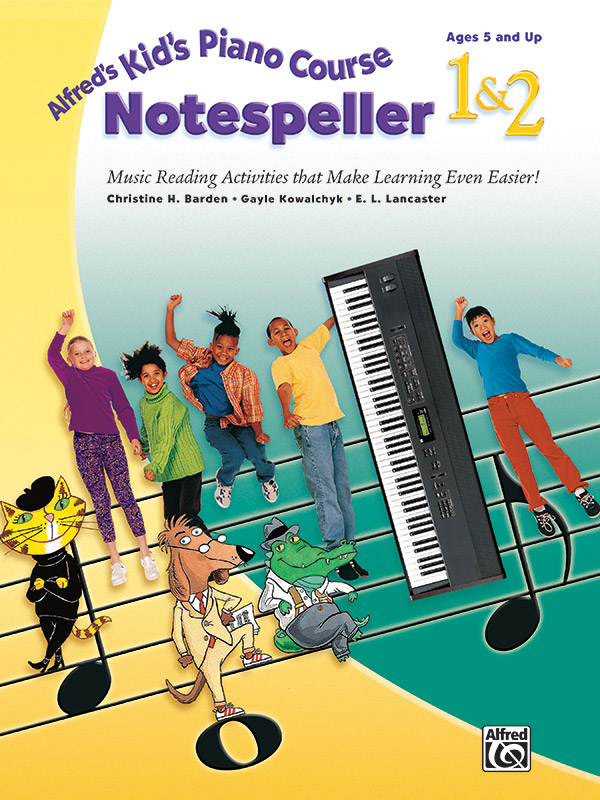 Alfred's Kid's Piano Course Notespeller 1 & 2