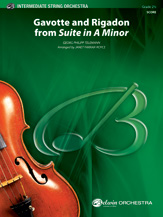 Gavotte and 'Rigadon' from <i>Suite in A Minor</i>