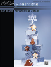 Dan Coates Popular Piano Library: Medleys for Christmas