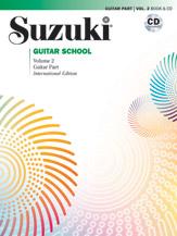 Suzuki Guitar School Guitar Part & CD, Volume 2