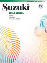 Suzuki Cello School Cello Part & CD, Volume 7 (Revised)