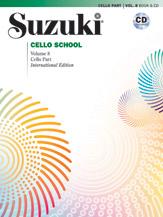 Suzuki Cello School Cello Part & CD, Volume 8 (Revised)