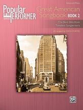 Popular Performer: Great American Songbook, Book 2