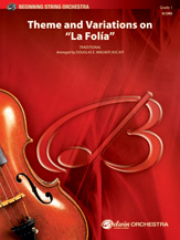 Theme and Variations on 'La Folia'