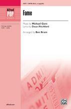 Fame : SATB : Ben Bram : Steve Margoshes : Fame : Sheet Music : 00-41871 : 038081469515
