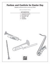Fanfare and Canticle for Easter Day: 1st & 2nd B-flat Trumpets