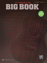 The New Ukulele TAB Big Book