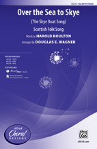 Douglas E. Wagner : Over the Sea to Skye : Showtrax CD : 038081487571  : 00-43215