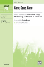 Andy Beck : Gone, Gone, Gone : Showtrax CD : 038081488226  : 00-43280