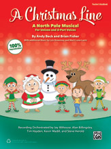 Andy Beck and Brian Fisher : A Christmas Line : Unison / 2-Part : Songbook : 038081489711  : 00-43431