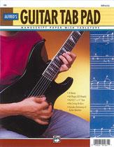 Guitar TAB Pad (8.5' x 11')