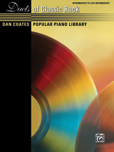 Dan Coates Popular Piano Library: Duets of Classic Rock