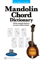 Mini Music Guides: Mandolin Chord Dictionary