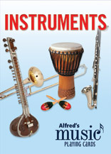 Alfred's Music Playing Cards: Instruments (1 Pack)