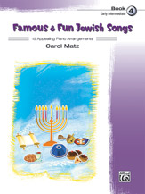 Famous & Fun Jewish Songs, Book 4