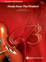 Finale from The Firebird by Igor Stravinsky | digital sheet music | Gustaf
