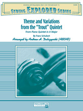 Theme and Variations from the 'Trout' Quintet