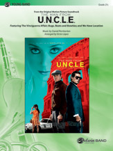 The Man from U.N.C.L.E. (from the Original Motion Picture Soundtrack) by Daniel Pemberton | digital sheet music | Gustaf