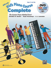 Alfred's Kid's Piano Course, Complete: The Easiest Piano Method Ever!  By Christine H. Barden, Gayle Kowalchyk, and E. L. Lancaster (#AL-00-45195) thumbnail