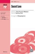 Greg Jasperse : Secret Love : Showtrax CD : 038081514123  : 00-45673