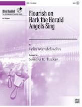 Flourish on 'Hark the Herald Angels Sing'