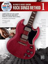 Alfred's Basic Guitar Rock Songs Method 1