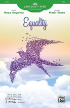 Mark Hayes : Equality : Showtrax CD : 038081528014  : 00-46422