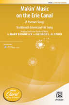 Mary Donnelly and George L. O. Strid : Makin' Music on the Erie Canal : Showtrax CD : 038081531069  : 00-46531