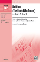 Andy Beck : Audition (The Fools Who Dream) : Showtrax CD : 038081531830  : 00-46728