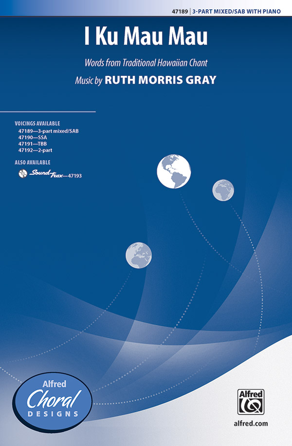 Ruth Morris Gray : I Ku Mau Mau : Showtrax CD : 038081540092  : 00-47193