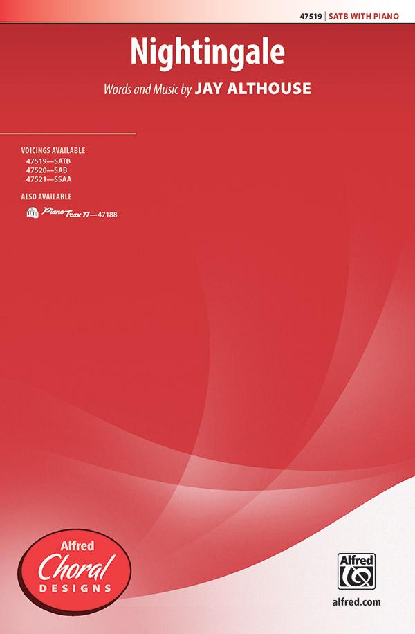 Nightingale : SATB : Jay Althouse : Sheet Music : 00-47519 : 038081542126