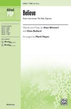 Believe : TTBB : Mark Hayes : The Polar Express : Sheet Music : 00-47608 : 038081543017