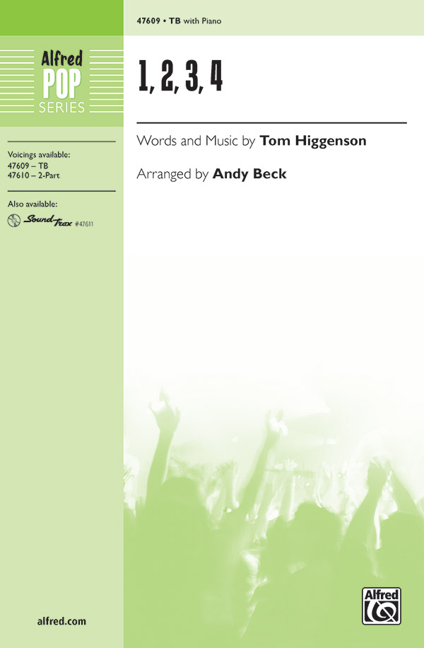 1, 2, 3, 4 : TB : Andy Beck : Sheet Music : 00-47609 : 038081543024