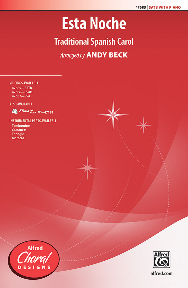 Esta Noche : SATB : Andy Beck : Sheet Music : 00-47685 : 038081543789