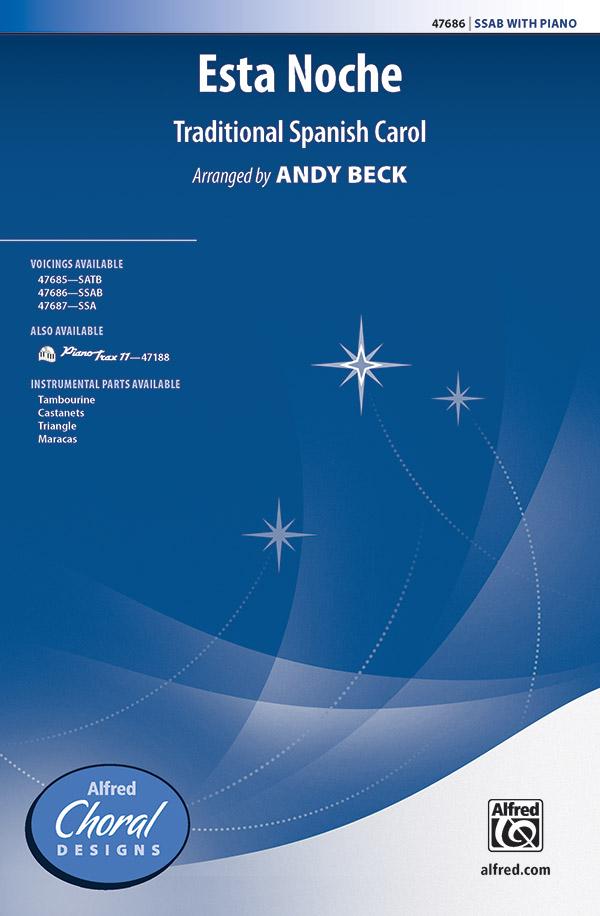 Esta Noche : SSAB : Andy Beck : Sheet Music : 00-47686 : 038081543796
