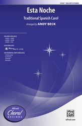 Esta Noche : SSA : Andy Beck : Sheet Music : 00-47687 : 038081543802
