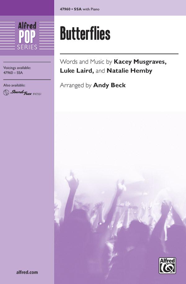 Andy Beck : Butterflies : Showtrax CD : 038081550480  : 00-47961