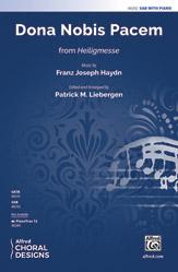 Dona Nobis Pacem : SAB : Patrick M. Liebergen : Franz Joseph Haydn : Sheet Music : 00-48292 : 038081551159